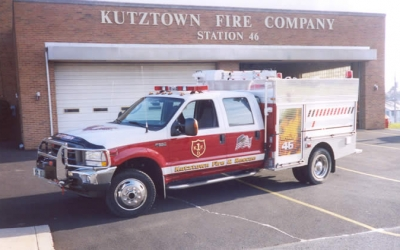Kutztown, PA // F-550 6.0L Powerstroke with dual alternators and Blackbird™